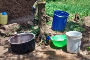The Water Project: JM Rembe Primary School -  Water Containers