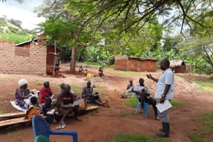 The Water Project: Maiha-Kayanja Community -  Talking About Objectives