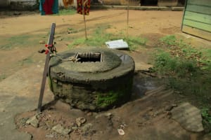 The Water Project: Tholmosor Community, Alpha Dabola Road -  Open Well