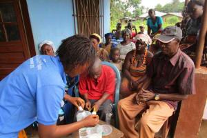The Water Project: Benke Community, Waysaya Road -  Solar Disinfection