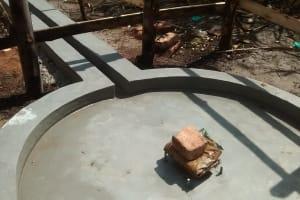 The Water Project: Rubona Kyagaitani Community -  Well Pad
