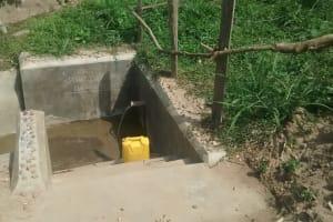 The Water Project: Abangi-Ndende Community -  Clean Water
