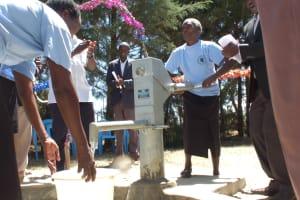 The Water Project: Chepkemel Community -  Handing Over