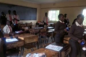 The Water Project: Shibale Secondary School -  Class Break