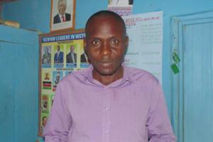 The Water Project: Shamalago Primary School -  Mr Martin Luseno Mseve