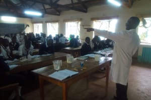 The Water Project: Shanjero Secondary School -  Students In Class
