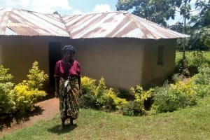 The Water Project: Wasenje Community, Margaret Jumba Spring -  Margaret Jumba At Her Home