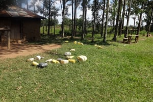 The Water Project: Bukhubalo Primary School -  Water Containers