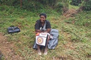 The Water Project: Kakubudu Community, Fred Lagueni Spring -  Chairwoman Agripina Arigula