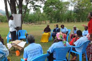 The Water Project: Chepkemel Community -  Training