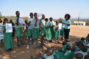 The Water Project: Ilinge Primary School -  Training Illustrations