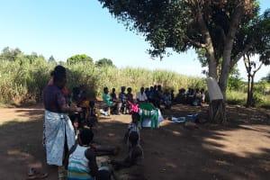 The Water Project: Rubani-Kyawalayi Community -  Vsla Meeting