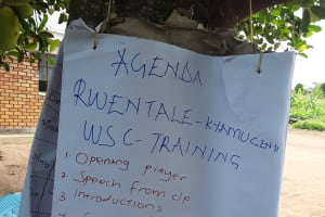 The Water Project: Rwentale-Kyamugenyi Community -  Training