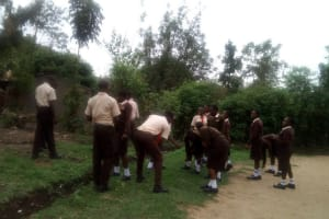 The Water Project: Shibale Secondary School -  Students Playing