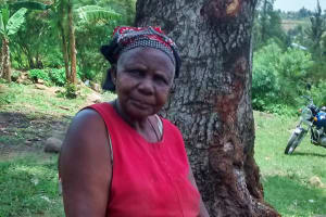 The Water Project: Ulagai Community, Rose Obare Spring -  Rose Obare
