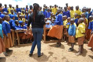 The Water Project: Kivani Primary School -  Hand Washing Training