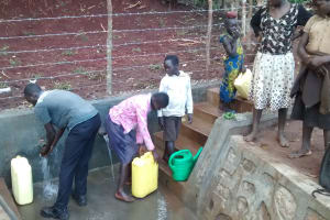 The Water Project: Katugo I-Alu Community -  Clean Water