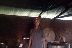 The Water Project: Bushili Secondary School -  Cook Dennis