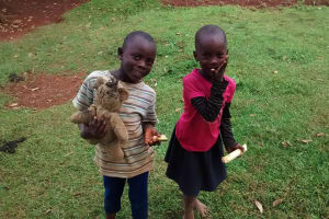 The Water Project: Bumavi Community, Esther Spring -  Children Playing