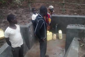 The Water Project: Ejinga-Ayikoru Community -  Clean Water