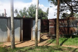 The Water Project: Bukhubalo Primary School -  Latrines