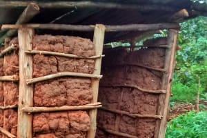 The Water Project: Bumavi Community, Esther Spring -  Latrine