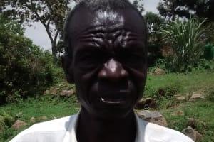 The Water Project: Shiru Community, Sammy Alumola Spring -  Mr Sammy Alumola