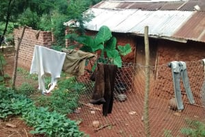 The Water Project: Ulagai Community, Rose Obare Spring -  Household