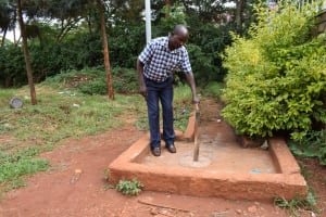The Water Project: Kaani Lions Secondary School -  Pipeline When Dry