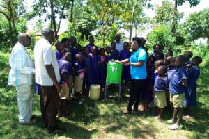 The Water Project: Iyenga Primary School -  Hand Washing