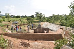 The Water Project: Mitini Community A -  Finished Well