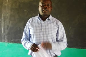 The Water Project: Womulalu Primary School -  Headteacher
