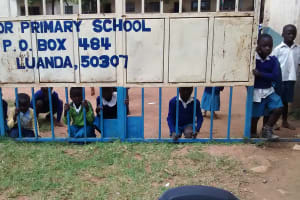 The Water Project: Rabuor Primary School -  School Gate