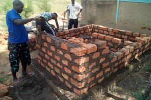 The Water Project: Mutsuma Secondary School -  Latrine Construction