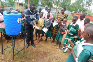The Water Project: Womulalu Primary School -  Hand Washing Training