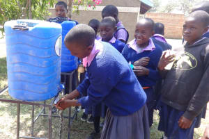 The Water Project: Ematetie Primary School -  Hand Washing Training