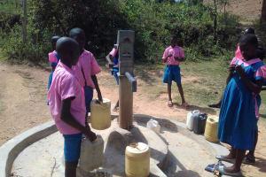 The Water Project: Kapsotik Primary School -  Seasonal Well In Community