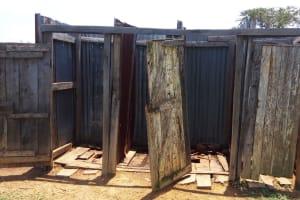 The Water Project: Makuchi Primary School -  Latrines