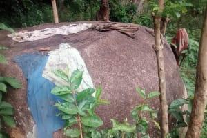 The Water Project: Jivovoli Community, Wamunala Spring -  Clothes Drying On Rock