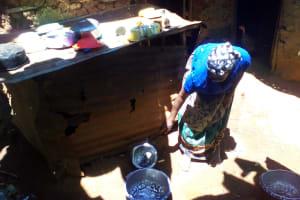 The Water Project: Lwangele Community, Machayo Spring -  Mrs Musera