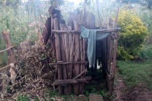 The Water Project: Koloch Community, Solomon Pendi Spring -  Bathing Shelter