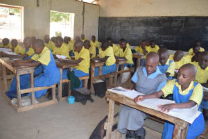 The Water Project: Kithumba Primary School -  Students In Class