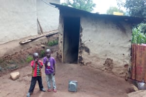 The Water Project: Samisbei Community, Isaac Rutoh Spring -  Household