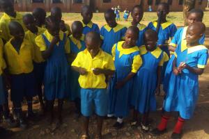 The Water Project: Munyanda Primary School -  Oral Hygiene Training