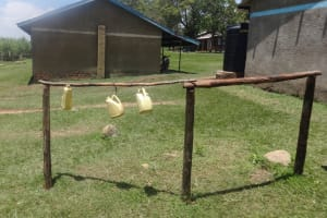 The Water Project: Musabale Primary School -  Containers For Hand Washing