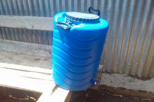 The Water Project: Imusutsu High School -  Hand Washing Station