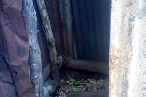 The Water Project: Mwituwa Community, Nanjira Spring -  Bathing Shelter