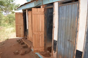 The Water Project: Katalwa Primary School -  Latrines
