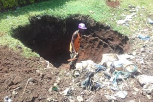 The Water Project: Imusutsu High School -  Garbage Pit