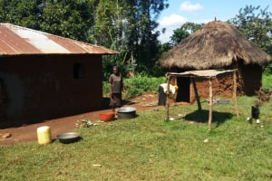 The Water Project: Luvambo Community, Tindi Spring -  Household